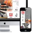 Zwilling J.C. Henkels Mobile and Desktop Webpages